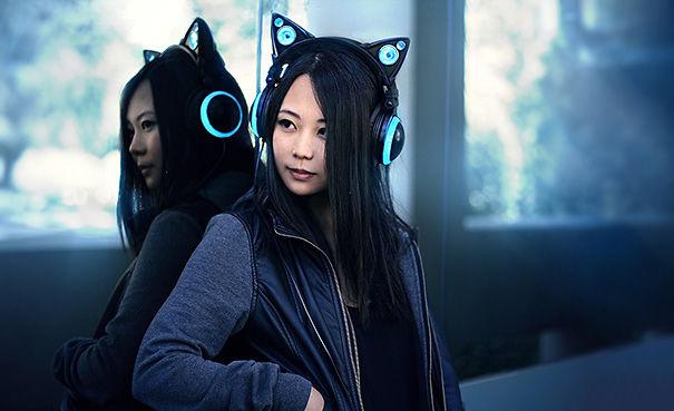 Headphone hình mèo vừa ngầu vừa độc