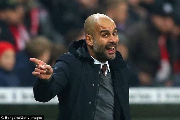 Chia tay Bayern, HLV Guardiola được cho là sẽ sang Man City mùa tới.