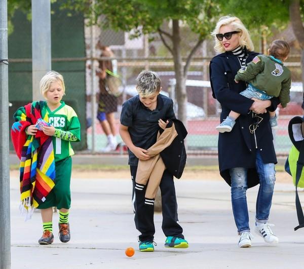 Gwen Stefani muốn giành quyền nuôi các con (ảnh: Zimbio)