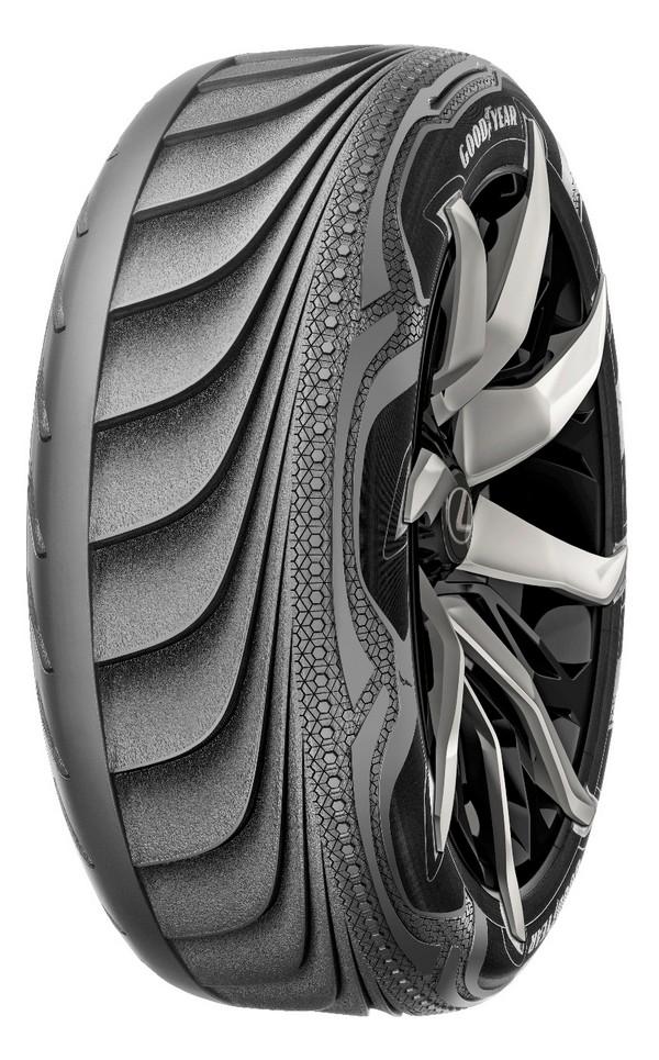 Thiết kế lốp xe Triple Tube tự điều chỉnh áp suất hơi theo điều kiện đường