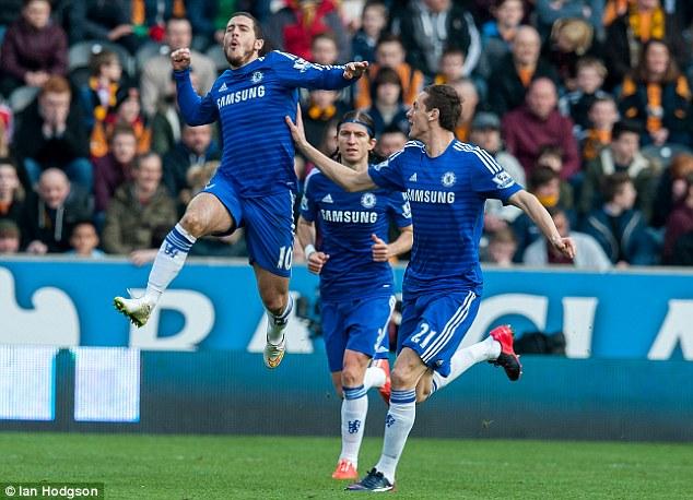 Hazard chính là gương mặt sáng giá nhất của Chelsea mùa này.