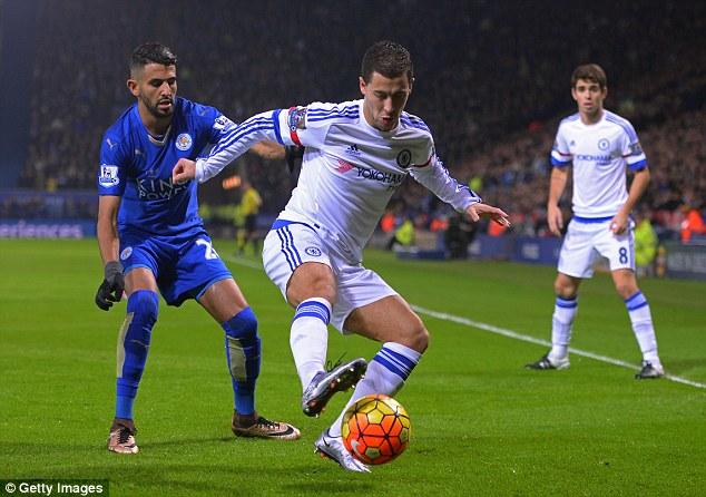 Hazard (giữa) là người gây thất vọng lớn nhất.