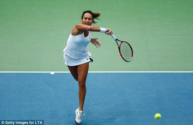 Ngôi sao quần vợt Anh quốc Heather Watson góp công giúp đội nhà có suật chơi trận play-off với Belarus.