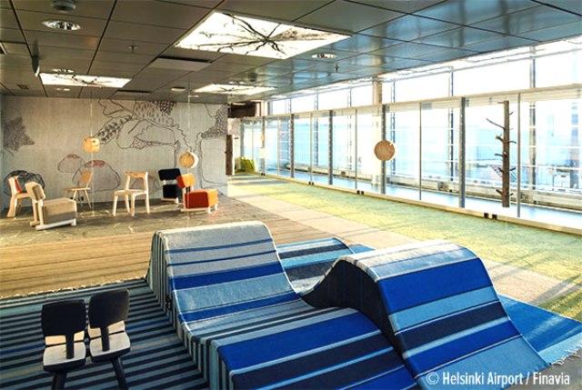 7. Sân bay Helsinki, Phần Lan.