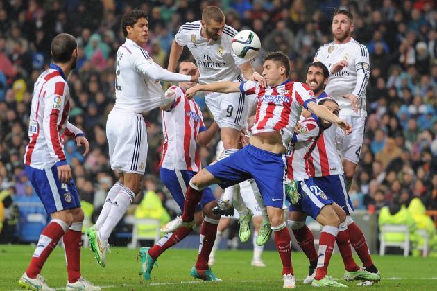 Các lá thăm hoàn toàn có thể tái hiện trận chung kết mùa giải 2013/14 giữa Atletico Madrid và Real Madrid