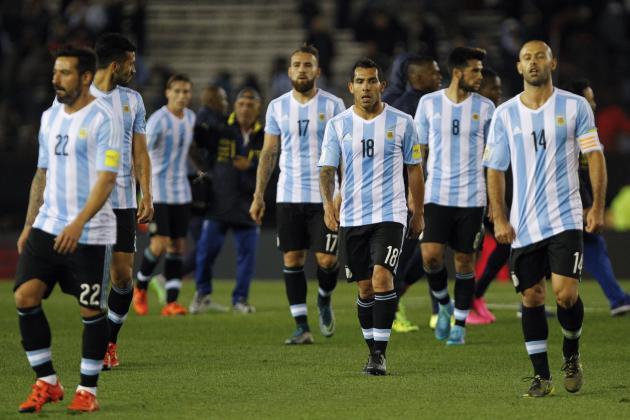Argentina chưa biết thắng tại vòng loại World Cup 2018