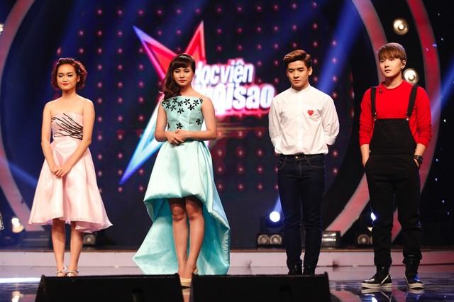 4 thí sinh nằm trong nhóm nguy hiểm tuần 7 Học viện ngôi sao gồm Tiểu Nương, Bảo Trân, Phú Thiện, Khắc Minh