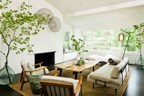 Tạo khoảng xanh cho ngôi nhà bằng cây cảnh không chỉ giúp không gian tươi mát hơn mà còn tạo nét đẹp tự nhiên cho ngôi nhà.