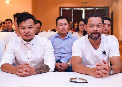 Hai con trai của NSND Y Moan - Y Garia (trái) và Y Vol - cũng trình diễn trong Liveshow Sol Vàng tháng 11