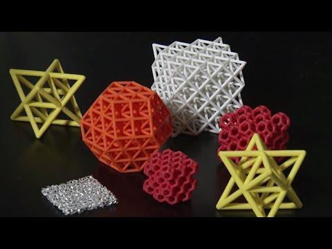 Vật liệu in 3D siêu nhẹ có thể chịu lực gấp 160.000 lần trọng lượng chính nó
