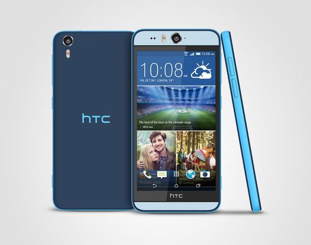 HTC Desire EYE là thiết bị cao cấp nhất trong dòng sản phẩm Desire