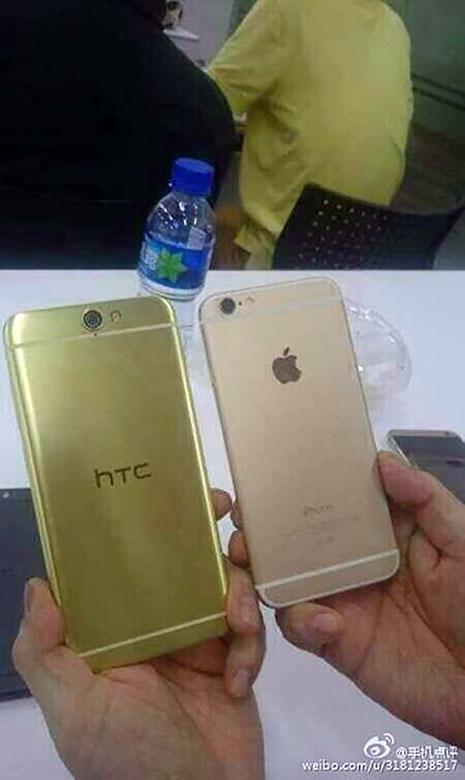 HTC O2 đọ dáng bên iPhone 6