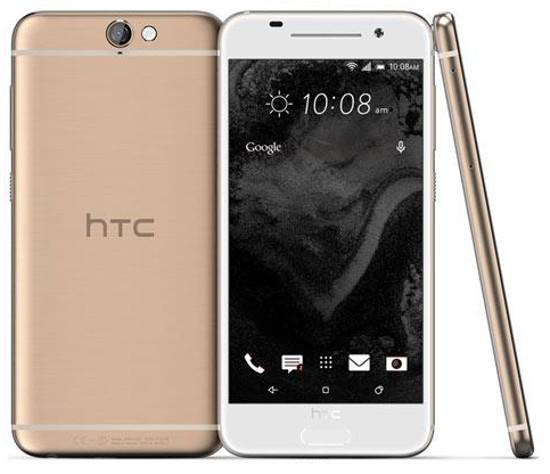 Phiên bản màu vàng hồng của HTC One A9 giống iPhone 6S và iPhone 6S Plus