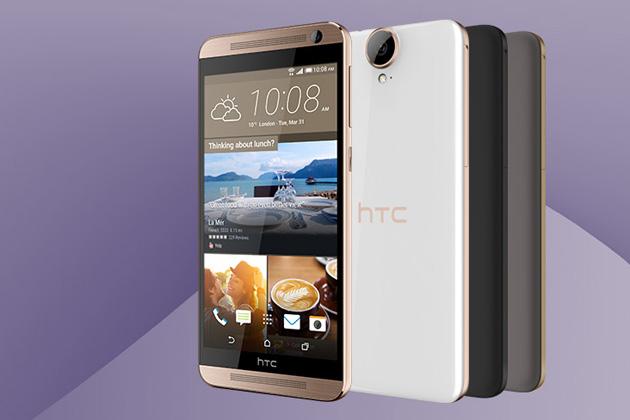 HTC One E9+ đã chính thức lộ diện trên trang web của HTC tại thị trường Trung Quốc