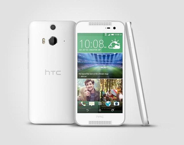 HTC Butterfly 2 được trang bị hệ thống máy ảnh kép ở mặt sau