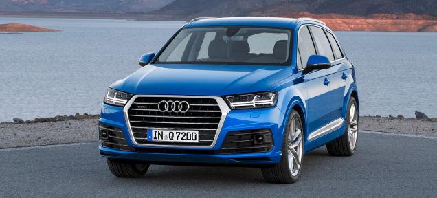 Audi Q7 2016 được thiết kế với các vật liệu siêu nhẹ, giúp xe giảm tới 325 kg so với phiên bản trước