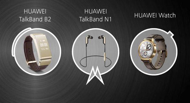Bộ 3 thiết bị đeo thông minh được Huawei trình làng