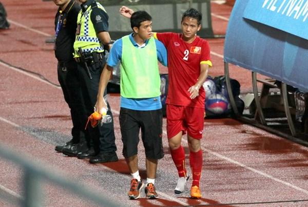 Trung vệ Hữu Dũng sẽ vắng mặt trong trận đấu với U23 Timor Lester (Ảnh: Khả Hòa)