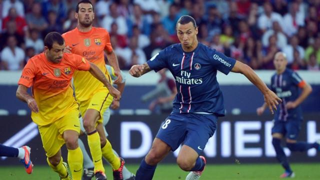 Ibrahimovic sẽ vắng mặt trong trận đấu sắp tới ở Parc des Princes