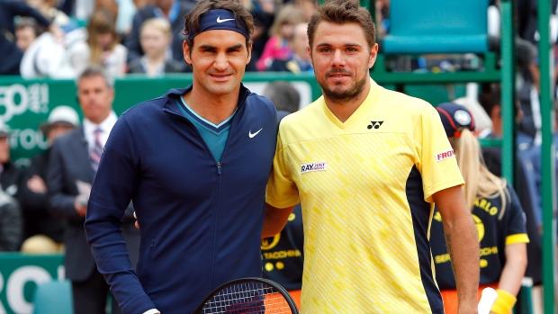 Hai tay vợt người Thuỵ Sỹ chạm trán ở trận chung kết năm ngoái.