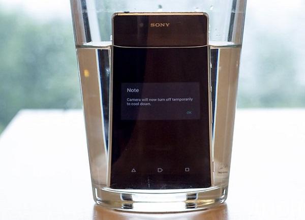 Sony Xperia Z3+ gặp lỗi quá nóng