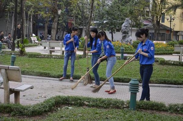 Thành đoàn Hà Nội luôn có những hoạt động xã hội thiết thực tại địa bàn thành phố.