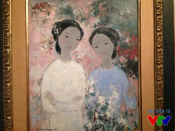 Các bức tranh đều thể hiện tâm tư, tình cảm các các họa sĩ trong từng thời kì của đất nước.