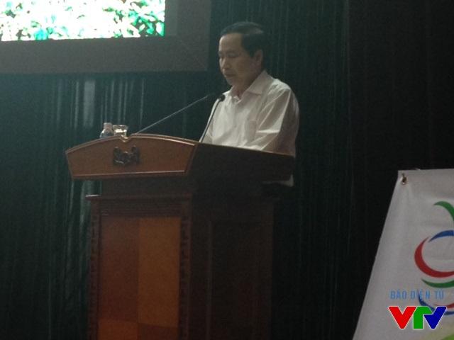 Ông Nguyễn Ngọc Long, Chủ tịch UBND tỉnh Thái Nguyên cho biết Tinh hoa Trà Việt là chủ đề năm nay của Fesival Trà 2015