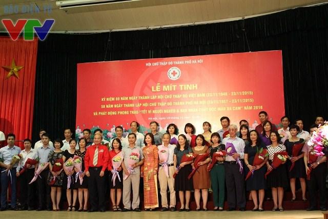 Sau nhiều năm xây dựng và phát triển, Hội Chữ thập đỏ Việt Nam đã trở thành tổ chức mạnh trong hoạt động nhân đạo, có uy tín trong lòng người dân