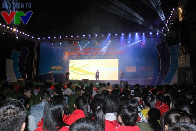 Sự kiện có sự tham gia của hơn 4000 bạn trẻ đến từ nhiều trường Đại học tại Thủ đô