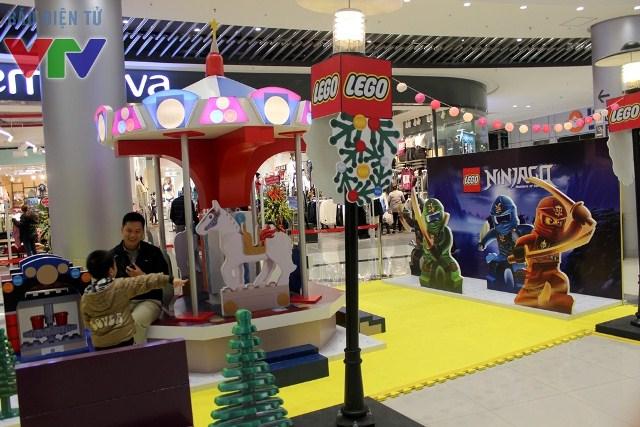 Những mô hình Lego khổng lồ tuyệt đẹp được trưng bày bắt mắt