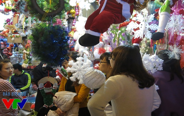 Phố Hàng Mã sẽ là địa điểm vui chơi hấp dẫn vào ngày lễ giáng sinh
