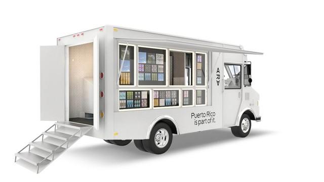 Xe lưu động phân phối sản phẩm thử nghiệm của Project Ara tai Puerto Rico