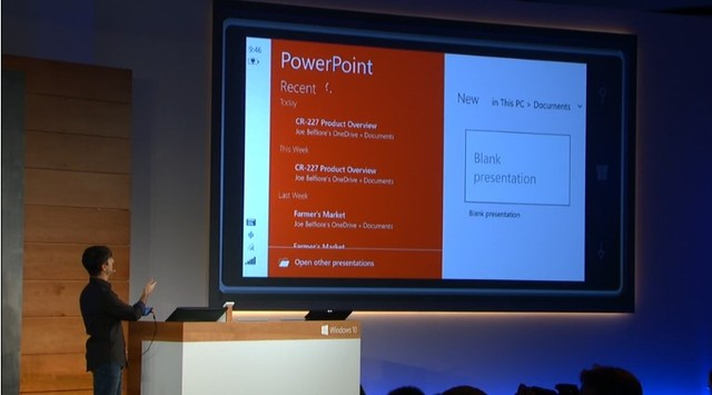Power Point với giao diện mới