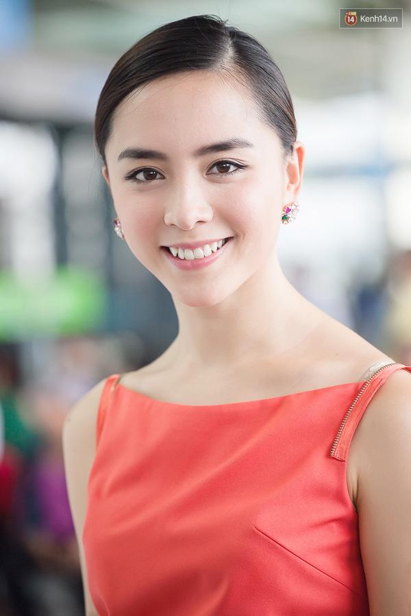 Đàn chị Dương Trương Thiên Lý cũng gửi một số lời dặn dò tới Phạm Hương khi bước chân vào một cuộc thi sắc đẹp tầm cỡ quốc tế (Ảnh: Kim Điền/Kenh14)