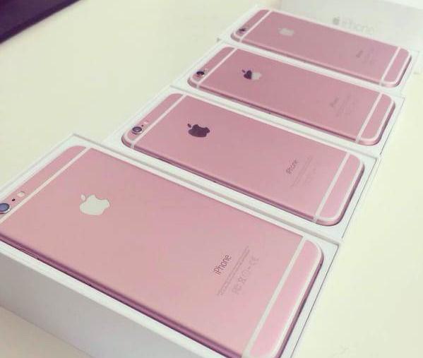 Hình ảnh iPhone 6S và iPhone 6S Plus phiên bản màu hồng