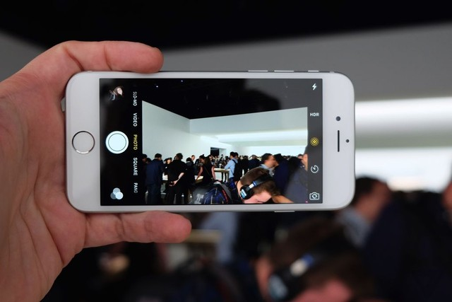 Camera iSight 12 MP của iPhone 6S có độ sắc nét cao