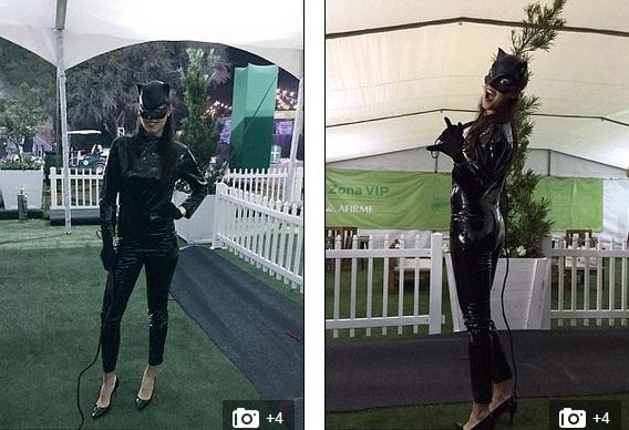 Ivanovic hóa thân thành ả mèo đen quyến rũ trong phim Batman.