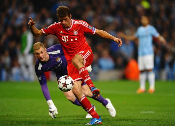 Thomas Muller cực giỏi trong việc đánh hơi bàn thắng