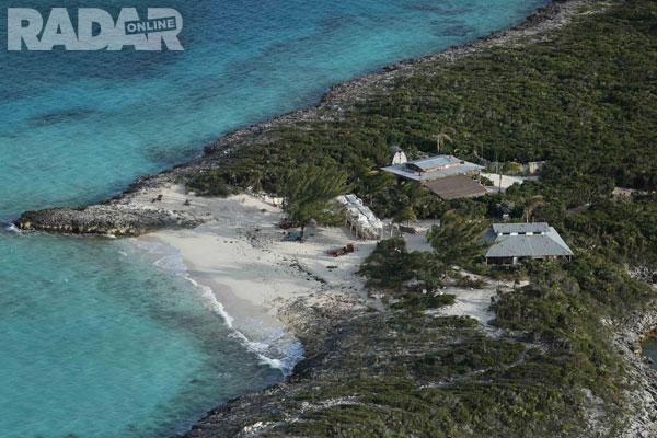 Một góc tuyệt đẹp trên hòn đảo của Johnny Depp.