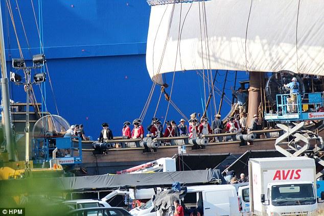 Phần mới của phim được quay tại Bờ biển Vàng (Australia).