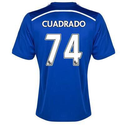 Áo đấu của Juan Cuadrado tại Chelsea