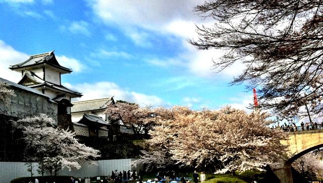 Lâu đài cổ Kanazawa. (Ảnh: Ishikawajet)