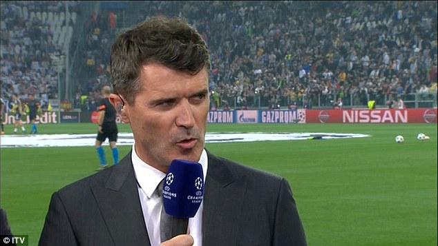 Roy Keane lên hình trên ITV chê bai Bale tới tả.