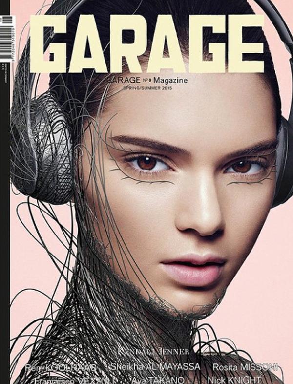 Kendall Jenner trên bìa tạp chí Garage.