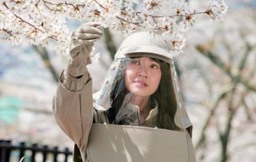 Bộ trang phục đặc biệt của Nhã Phương trong phim.