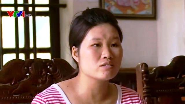 Chị Kim Thị Hoài, ở xã Phú Xuân, huyện Bình Xuyên, Vĩnh Phúc.