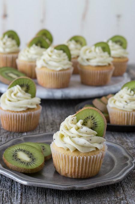 Cupcake mang hương vị mê hoặc từ Kiwi