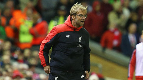 HLV Juergen Klopp sẽ có chiến thắng đầu tay cùng Liverpool tại vòng 4 Capital One Cup?