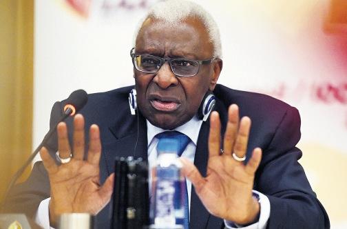 Cựu chủ tịch của IAAF Lamine Diack